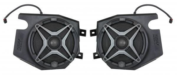 POLARIS RZR 2014 AND UP FRONT SPEAKER PODS WITH 120 WATT 6 1/2 SPEAKER